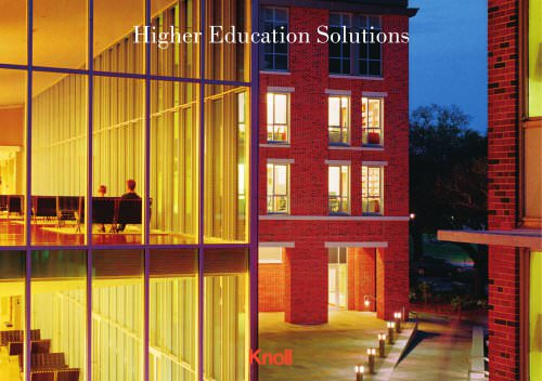 Knoll Higher Education Solutions