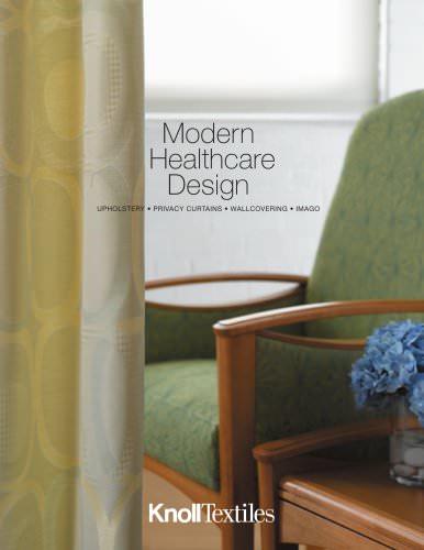 KnollTextiles Modern Healthcare Design