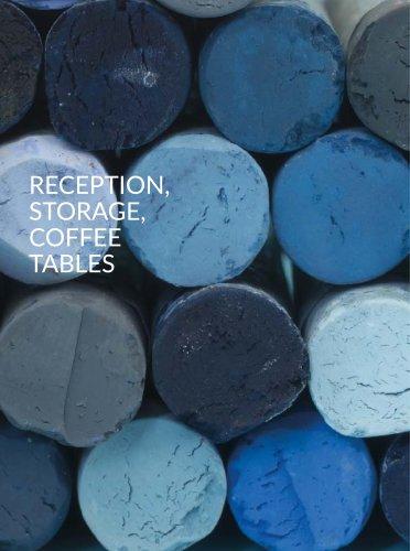 Reception, Storage, Coffee Tables