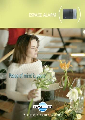 Brochure Alarme Espace