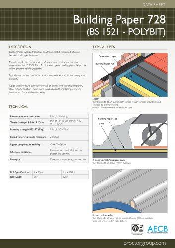 Building Paper 728