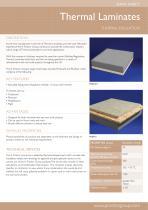 Proctors - Thermal Laminates Datasheet
