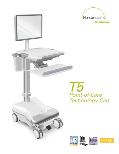 T5 Point-of-Care  Technology Cart